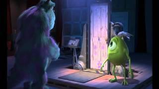 getlinkyoutube.com-Monsters & Co - Finale (Mike Wazosky ricostruisce porta di BU)