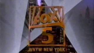 getlinkyoutube.com-WNYW 1991 Fox 5 Station ID