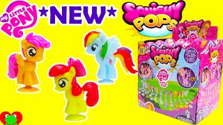 getlinkyoutube.com-My Little Pony Squishy Pops with Cutie Mark Crusaders