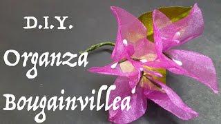getlinkyoutube.com-D.I.Y. Organza Bougainvillea | MyInDulzens