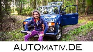 Ein wahrer Offroader! Lada 4x4 (Taiga/Niva) im Fahrbericht - Offroad in den Vogesen