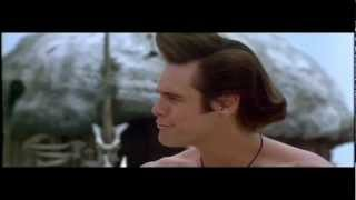 getlinkyoutube.com-Ace Ventura When Nature Calls: Tribal Fight (Full Scene)