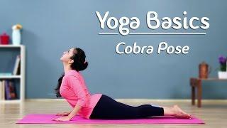 Cobra Pose – Step By Step | Bhujangasana | Yoga For Beginners - Yoga With AJ