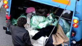 getlinkyoutube.com-ゴミ収集車 燃えるゴミ