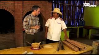 La ruta del sabor - Caldo de piedras. Oaxaca, Oaxaca (29/01/2013)