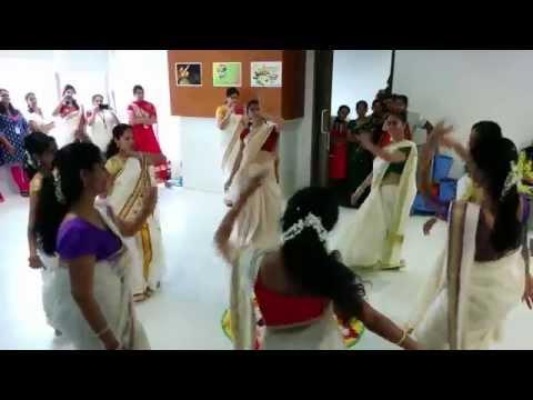Onam 2014 Celebrations at Capgemini Bangalore - Thiruvathira