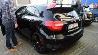 getlinkyoutube.com-Mercedes-Benz A45 AMG Edition 1 Brutal Exhaust/Sound [AMG FTW]