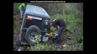 getlinkyoutube.com-Extreme Off-Road Utopiony w błocie Isuzu Trooper CAMP 4x4