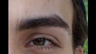 getlinkyoutube.com-como depilar las cejas en un hombre / how I shape my eyebrows