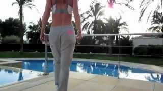 getlinkyoutube.com-Sexy taekwondo girl , best flexibility ever !