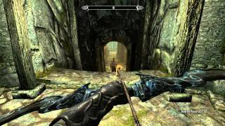 Skyrim stealth Assassin Archer Gameplay 1080p HD