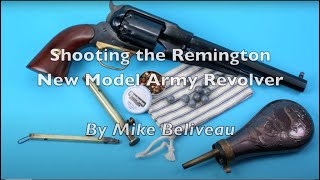 Shooting the Remington New Model Army Revolver.mov