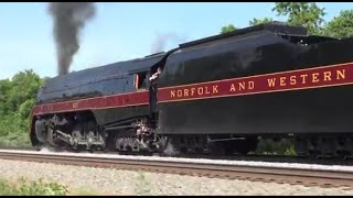 Norfolk & Western J #611 Manassas to Front Royal (Pacing)