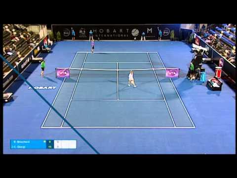Eugenie Bouchard vs Camila Giorgi - Match Highlights
