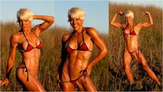 getlinkyoutube.com-Christine Le Monde Gorgeous 50 Year old Personal Fitness Trainer Shoots with Rob Sims Studios