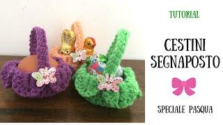 getlinkyoutube.com-Speciale Pasqua - Cestini Segnaposto