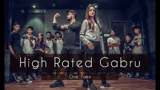 HIGH RATED GABRU   One Take   Guru Randhawa   Tejas Dhoke Choreography   Dancefit Live
