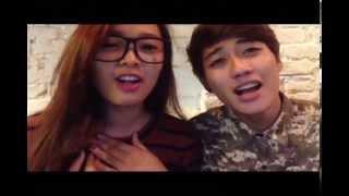 getlinkyoutube.com-Mình yêu nhau đi cover version bựa by Anh Vũ and Linh Miêu