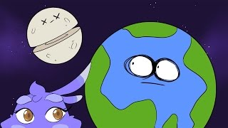 getlinkyoutube.com-What Would Happen If The Moon Were Cut In Half? | Dolan Life Mysteries ft. Melissa