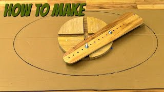 getlinkyoutube.com-(how to make) a router jig for making ellipes