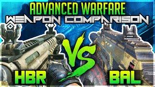 "getlinkyoutube.com-COD AW: ""Bal-27"" Vs ""HBRa3"" ""Weapon Comparison"" (Call of Duty Advanced Warfare Gun Comparison)"