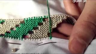 getlinkyoutube.com-تعليم خياطة الرندة مع أم عمران الدرس السابع عشر Embroidery Randa