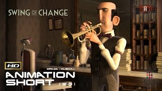 "getlinkyoutube.com-CGI 3D Animated Short Film ""SWING OF CHANGE"" Musical Animation by ESMA"
