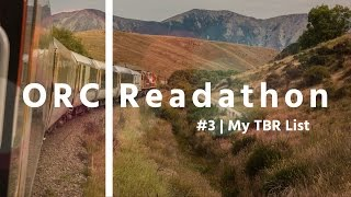 ORCreadathon3 | My TBR List
