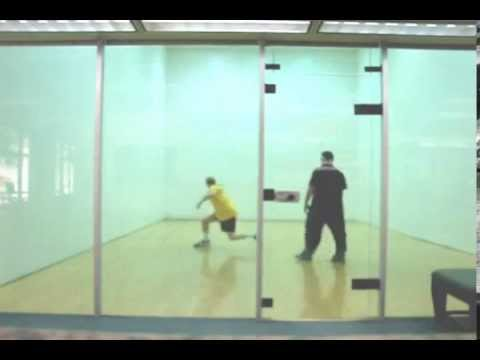 How to Play Racquetball - Mark Game Play Analysis