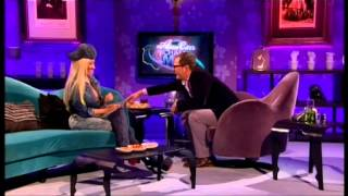 getlinkyoutube.com-Nicki Minaj Boobs out of her bra on  Alan Carr's Chatty Man Live  2-11-2012
