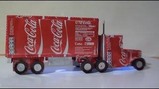 getlinkyoutube.com-كيفية صنع شاحنة كبيرة من علبة مشروبات