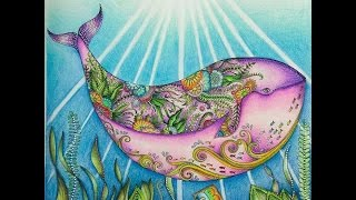 getlinkyoutube.com-Johanna Basford - Lost Ocean - Oceano Perdido - Sete Mares