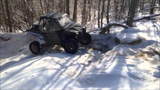 getlinkyoutube.com-Windrock trail 15 rzr rollover