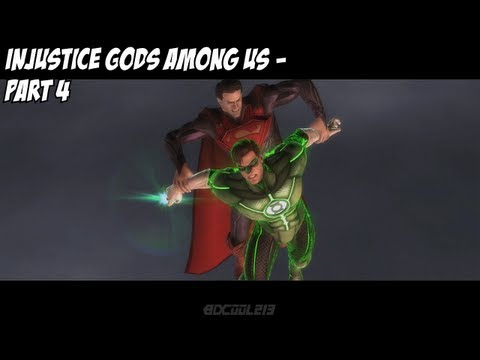 Let's Play: Injustice Gods Among Us Story Mode - Part 4 of 6
