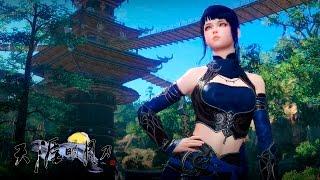 getlinkyoutube.com-Moonlight Blade - lvl 1~10 Assassin Gameplay - WuDu Clan - F2P - CN