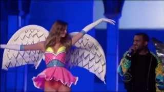 getlinkyoutube.com-Kanye West ,HD,  Stronger ,Live victoria secret fashion show,HD 720p