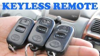 getlinkyoutube.com-Toyota Keyless Remote Programming