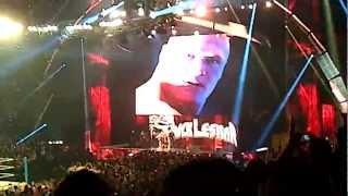 Brock Lesnar's SummerSlam 2012 Entrance