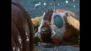 getlinkyoutube.com-Rebirth Of Mothra scene - Mothra's death