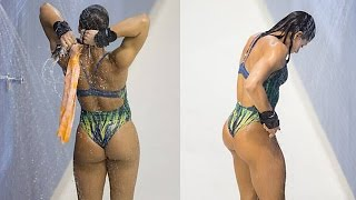 getlinkyoutube.com-Ingrid Oliveira - Hottest Diver at 2016 Olympics