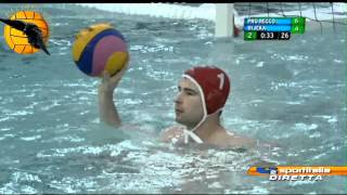 getlinkyoutube.com-Pro Recco 11 Primorje 8 Gold Game Final Four Champions League 2012 5.12.12 water polo