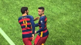 getlinkyoutube.com-Pro Evolution Soccer 2016#UEFA Champions League#Barcelona vs Arsenal