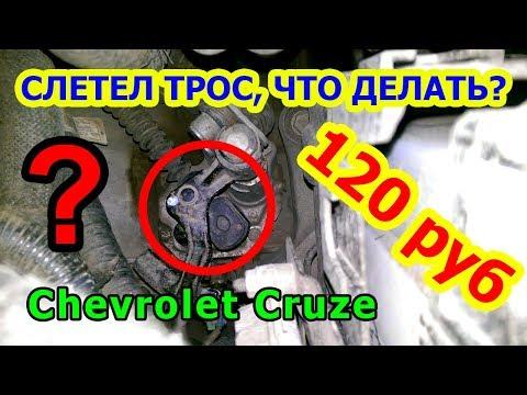 (CRUZE) Ремонт троса переключения передач