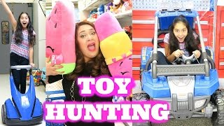 getlinkyoutube.com-Toy Hunting so much FUN at Toys R Us Hatchimals Shopkins 6 Halloween Costumes Claire's|B2cutecupcake