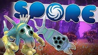 getlinkyoutube.com-IT GREW A BRAIN! | Spore