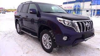 getlinkyoutube.com-2015 Toyota Land Cruiser Prado. Start Up, Engine, and In Depth Tour.