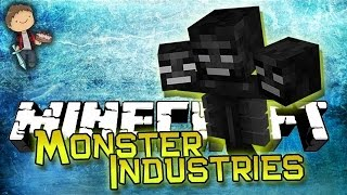 Minecraft: Monster Industries 2 New 1.8 Mini-Game w/Bajan Canadian and Friends!