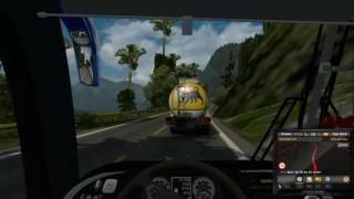 getlinkyoutube.com-Euro Truck Simulator 2 | Mapa Ecuador | Santo Domingo - Quito
