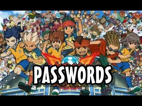 Inazuma Eleven Strikers Xtreme - Passwords dos Jogadores (GO)