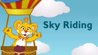 getlinkyoutube.com-♡ Between The Lions - Sky Riding Letter Recognition Funny Educational Game For Kids English